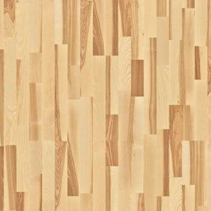 פרקט עץ משולב בהיר וכהה Ash Marcato