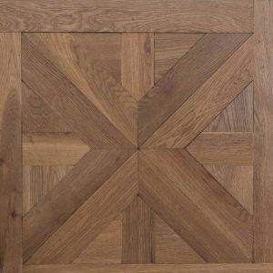פרקט עץ חום טבעי כהה Castel