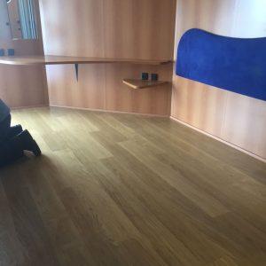 התקנת ריצוף פרקט במלון קלאב הוטל אילת