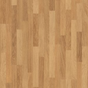 ENHANCED OAK NATURAL VARNISHED, 3 STRIP